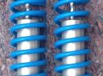 """verstellbare KONI Aluminium Coil Over Stossdämpfer # 82121123SPA1 inklusive oberer und unterer Stossdämpferlager und CHRIS ALSTON CHASSISWORKS 14"""" 130lbs. Spiralfedern # 6963"""