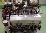 Motor SBC 412 cui Nitrous