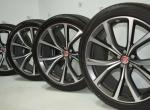 """set of 4x 22"""" Jaguar F-Pace SVR wheels"""