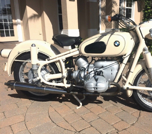 1959 BMW R69 WITH ONLY 8,506 DOCUMENTED MILES!